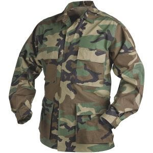 Helikon camicia Genuine BDU in policotone ripstop in Woodland