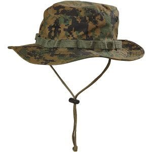 Helikon boonie hat USMC in Digital Woodland