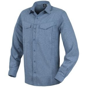Helikon Defender Mk2 Gentleman Shirt Long Sleeve Melange Blue