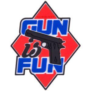 Helikon patch Gun is Fun in rosso