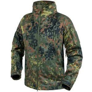 Helikon giacca softshell Gunfighter in Flecktarn