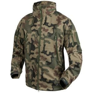 Helikon giacca softshell Gunfighter in Woodland polacco
