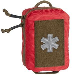 Helikon mini kit pronto soccorso in poliestere in rosso