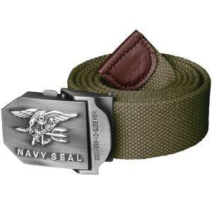 Helikon cintura Navy Seal in poliestere Olive Green