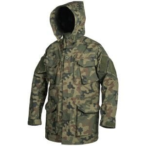 Helikon parka PCS in policotone ripstop in Woodland polacco