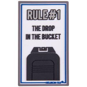 Helikon patch Rule#1 in bianco
