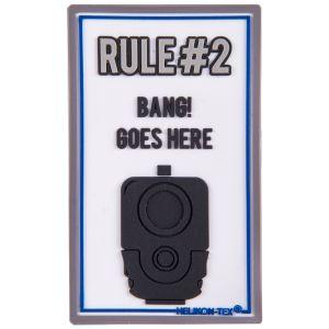 Helikon patch Rule#2 in bianco