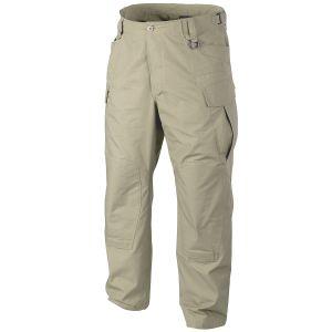 Helikon pantaloni SFU NEXT in cotone ripstop in cachi
