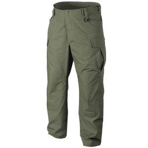 Helikon pantaloni SFU NEXT in saia di policotone in Olive Green