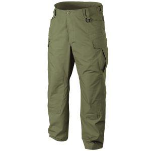 Helikon pantaloni SFU NEXT in policotone ripstop in Olive Green