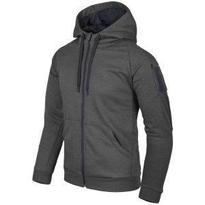 Helikon Urban Tactical Hoodie Full Zip Melange Black-Grey