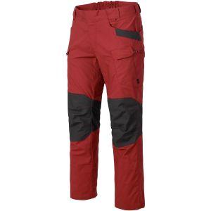 Helikon pantaloni UTP in ripstop in Crimson Sky/Ash Grey