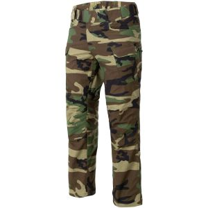 Helikon pantaloni UTP in ripstop in US Woodland