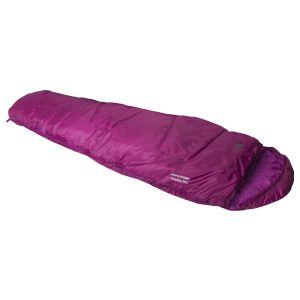 Highlander sacco a pelo mummia Sleepline 250 in rosa