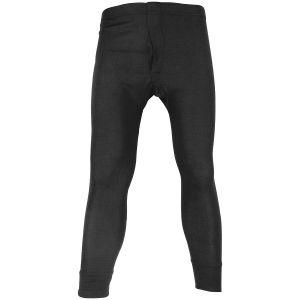 Highlander pantaloni termici Long Johns in nero