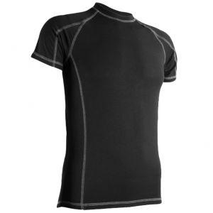 Highlander maglietta da uomo Bamboo 190 a maniche corte in nero