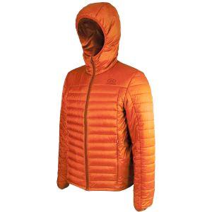 Highlander giacca isolante Barra da uomo in arancione Pumpkin
