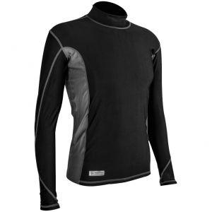 Highlander maglietta da uomo Pro Comp a maniche lunghe in nero / grigio