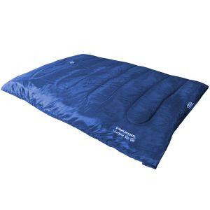 Highlander sacco a pelo matrimoniale Sleepline 350 in blu