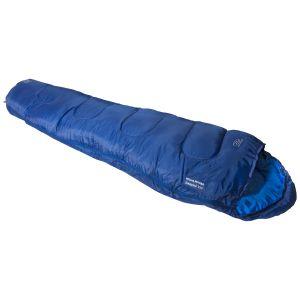 Highlander sacco a pelo mummia Sleepline 350 in blu
