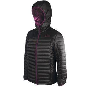 Highlander giacca isolante Barra da donna in nero