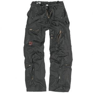 Surplus pantaloni cargo Infantry in nero