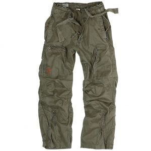 Surplus pantaloni cargo Infantry in verde oliva