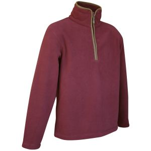 Jack Pyke pullover Countryman in pile bordeaux
