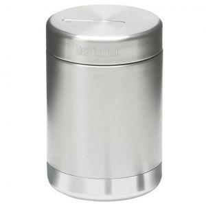 Klean Kanteen contenitore per alimenti termico 473ml in acciaio inox spazzolato