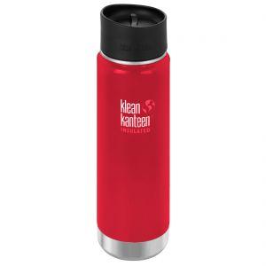 Klean Kanteen borraccia termica ad apertura ampia con tappo per caffè 2.0 592 ml in Mineral Red