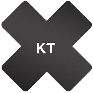 KT cerotto sintetico Pro-X confezione da 15 in nero