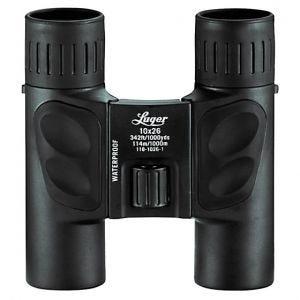 Luger binocolo LR 10x26 in nero