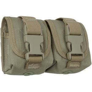 Maxpedition astuccio portagranata Double Frag in cachi