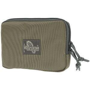 """Maxpedition tasca 5"""" x 7"""" (12,7 cm x 17,7 cm) con zip e retro in velcro in Khaki Foliage"""