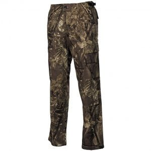 MFH pantaloni BDU da combattimento in Ripstop Hunter marrone