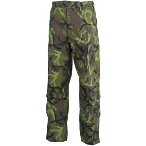 MFH pantaloni da combattimento ACU in Ripstop Czech Woodland