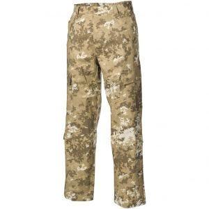 MFH pantaloni da combattimento ACU in Ripstop Vegetato Desert