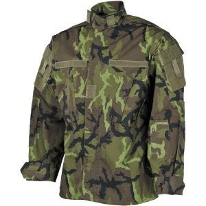 MFH giacca da campo ACU in Ripstop Czech Woodland