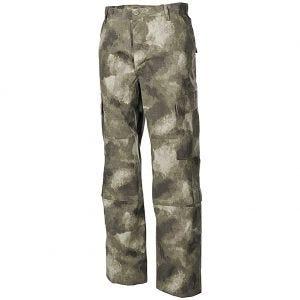 MFH pantaloni da combattimento ACU in Ripstop HDT Camo AU