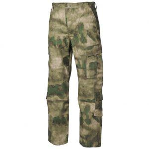 MFH pantaloni da combattimento ACU in Ripstop HDT Camo FG