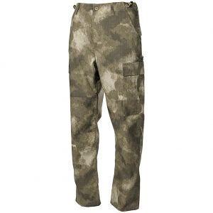 MFH pantaloni da combattimento BDU in Ripstop HDT Camo AU