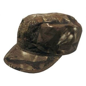 MFH cappello da pattuglia in Ripstop in marrone Hunter