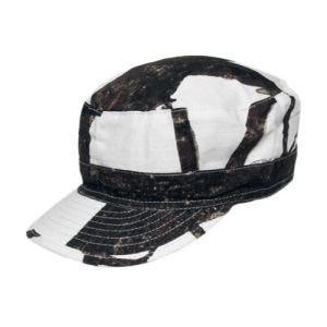 MFH berretto da campo in Ripstop Hunter Snow