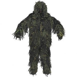 MFH Ghillie Suit Jackal 3D Body System in Woodland