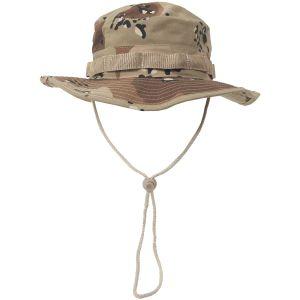 MFH cappello boonie GI in Ripstop Desert a 6 colori