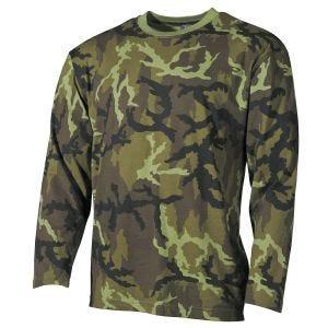 MFH T-shirt manica lunga in Czech Woodland