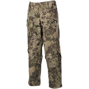 MFH pantaloni Mission da combattimento in Ripstop in Snake FG