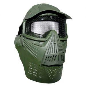 MFH maschera protettiva per paintball in verde oliva