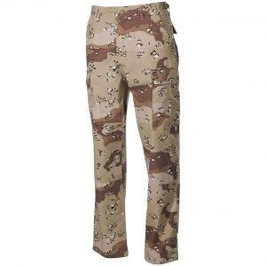 MFH pantaloni BDU da combattimento in Ripstop Desert a 6 colori