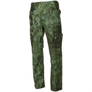 MFH pantaloni BDU da combattimento in Ripstop Hunter verde